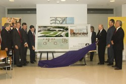 UAlbany dedicates the building site of its new School of Business, which strives to become the premier public business school in the Northeast by attracting top students and increasing resources dedicated to research.