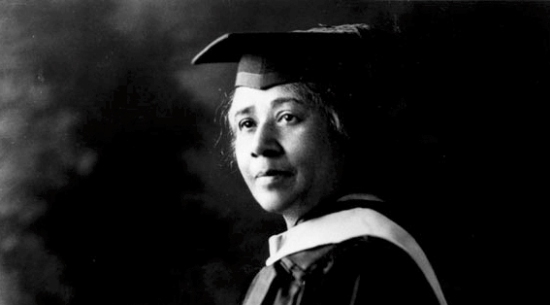 Anna Julia Cooper, first African American woman to earn a Ph.D. at the Sorbonne in Paris