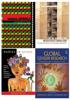 Book covers of new publications by UAlbany faculty in Latin American, Caribbean and U.S. Latino Studies