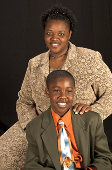 LaKe'Sha Bowen is working toward a better life for her son, Chyim.
