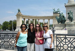 UAlbany MBA students went to Budapest, Hungary, last year.