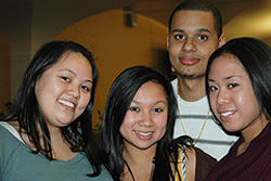 UAlbany students attend Danes after Dark.