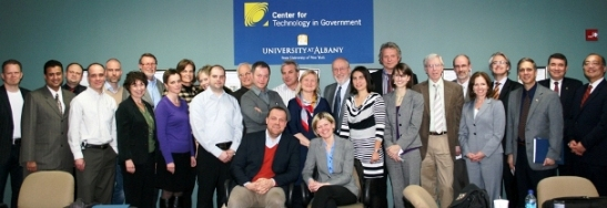 IT delegation from Norway visits UAlbany's Center for Technology in Government
