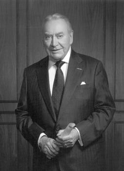 Former Gov. Hugh L. Carey, of New York