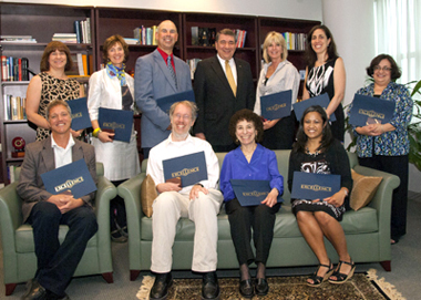 2012 Chancellor's Award Recipients
