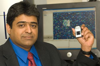 Sridar Chittur, director of the DNA Microarray Core Facility
