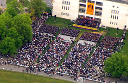 The University at Albany-SUNY's 2008 Undergraduate Commencement.