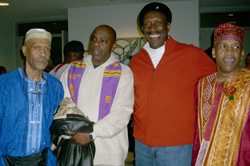 Walker's suitemates: Clinton McIntyre, George Moore, Harry Johnson, and Melvin Brown.