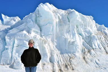 UAlbany's Lynsey Cross in Antarctica