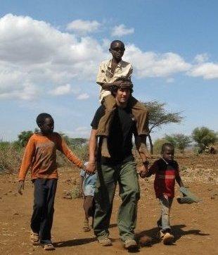 UAlbany MBA student Danny Bocanegra in Africa