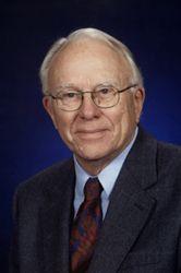Retired Professor of English Donald Stauffer