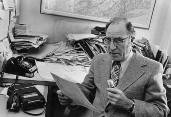 UAlbany meteorologist Ray Falconer