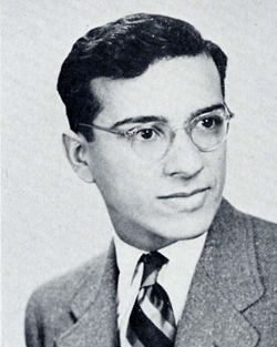 UAlbany Alumnus Dr. Frank J. Filippone, 1941 yearbook photo