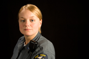 Johanna Fitch, officer, University Police Department