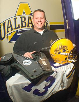 Assistant Director of Athletics Kevin Galuski Jr.