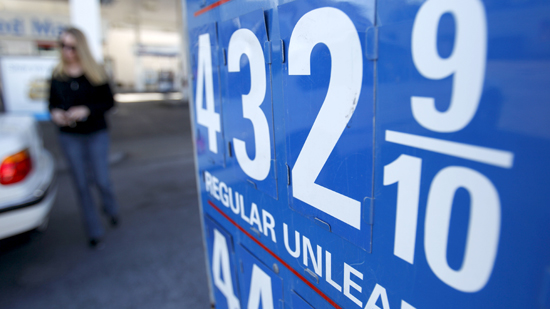 Gas prices rising in the U.S.