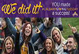 UAlbany 'Giving Tuesday'