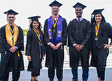 Members of UAlbany's Class of 2017.