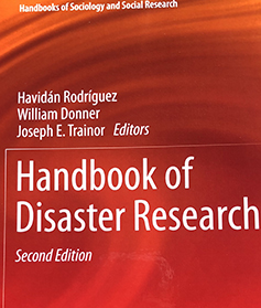 """Handbook of Disaster Research"" second edition."