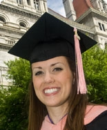 Christina Hansen, '09, School of Public Health