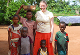 UAlbany student with Peace Corps in Togo