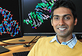 "New UAlbany RNA Institute lab manager Srivathsan Ranganathan (""Sri"")"