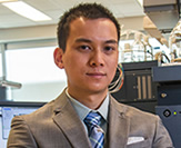 Tony Hoang, Ph.D. chemistry candidate.