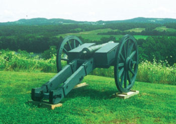 Cannon at Bemis Heights
