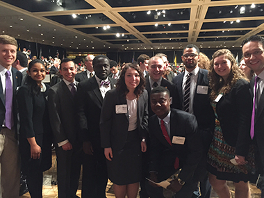 UAlbany's 2015 Chancellor's Award for Student Excellence honorees
