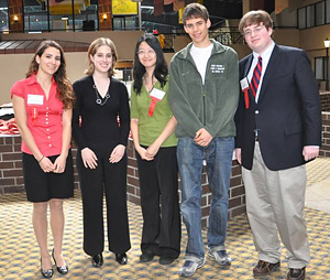 Junior Science and Humanities Symposium presenters