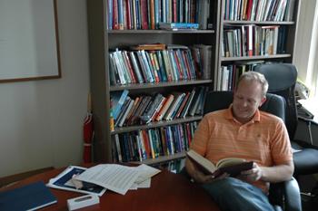 Assistant Professor Jason Lane, 2009-2010 Fulbright New Century Scholar