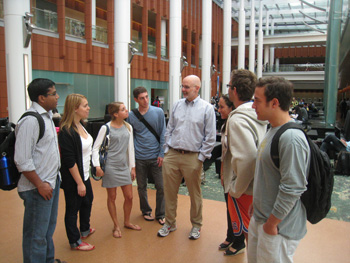 James Walsh shows his students the complexities of corporate social responsibility.