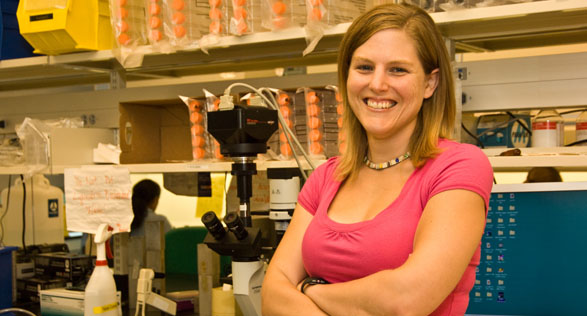 Meggan Keith, post doctoral fellow, UAlbany Cancer Research Center