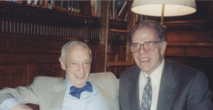 Saul Bellow and William Kennedy