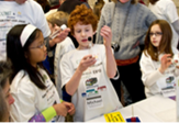 CCI hosts its third Junior FIRST Lego League Expo, where faculty, staff, students, and community participate with teams of 6 to 9-year-old boys and girls to develop Lego-based projects a bio-med theme.