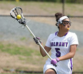 UAlbany's women's lacrosse advance to NCAA Tourney Round 2 with a 10-7 win versus Dartmouth.