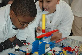 Lego team members