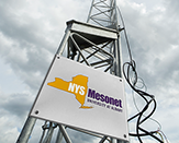 Photo of NYS Mesonet weather observation tower.