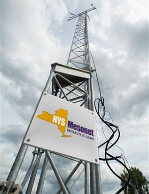 Mesonet tower
