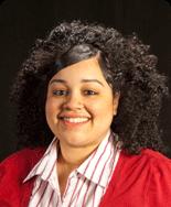 Francelina Morillo, '10, majoring in psychology and biology