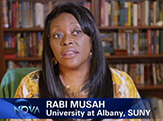 "Chemist Rabi Musah on PBS science show ""NOVA."""