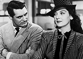 "Image from the film ""His Girl Friday."""