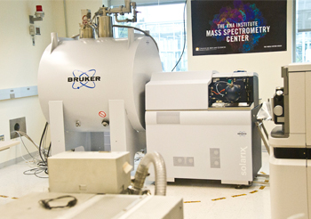 The Bruker 12 Tesla mass spectrometer