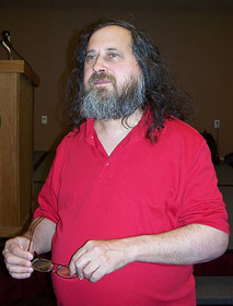 Richard Stallman, software freedom activist