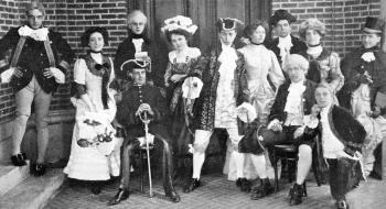 UAlbany's First Theatrical Production, Sheridan's The Rivals, from 1910