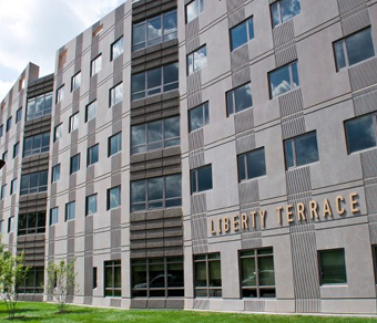 UAlbany's new residence hall Liberty Terrace