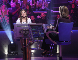 UAlbany senior Stephanie Ferreira, majoring in linguistics, was recently a contestant on Who Wants To Be A Millionaire.