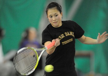 Susan Ma, UAlbany tennis player