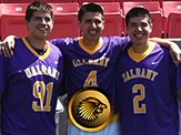 The Thompson trio earned spots on the Iroquois roster after leading UAlbany to arguably its best season in program history.
