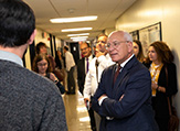 Rep. Paul Tonko meets with students, faculty and staff in DAES.